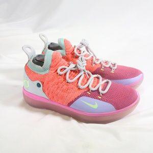 NIKE Kevin Durant KD 11 'EYBL' Peach Jam Sneakers